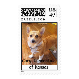 Pie -  Corgi Connection of Kansas Postage Stamp