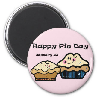 Pie Day January 23rd Refrigerator Magnets