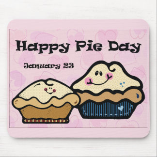 Pie Day January 23rd Mouse Pad