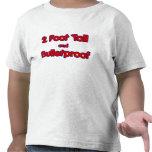 pie de alto 2 y camisa a prueba de balas del niño