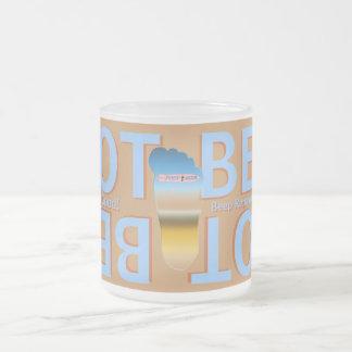 ¡PIE de la CERVEZA del PIE Cerveza-es bueno Taza De Cristal