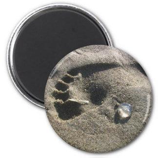 Pie de la jalea imán redondo 5 cm