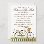 Pie Delivery Bicycle Invitation