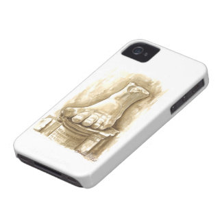Pie - emperador Constantina I. el gran ANUNCIO de iPhone 4 Case-Mate Fundas