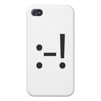 pie en mouth.ai iPhone 4/4S carcasas