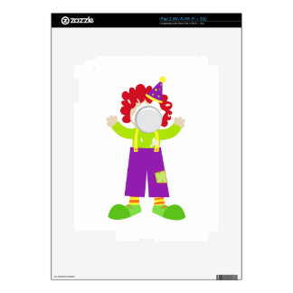 Pie Face Clown Skin For The iPad 2