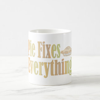 Pie Fixes Everything Coffee Mug