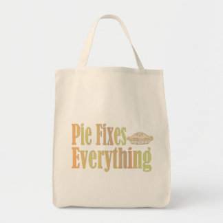 Pie Fixes Everything Tote Bag