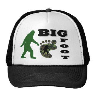 Pie grande con el logotipo del pie gorros