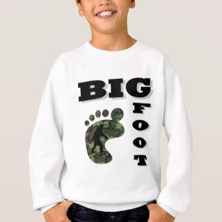 Pie grande con el logotipo del pie polera