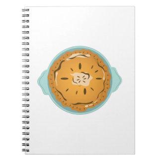 Pie in Pan Spiral Notebook