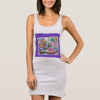 pie in the pace fun tank dress for her