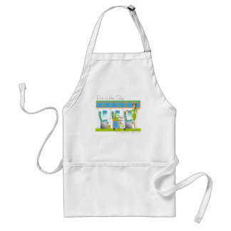 Pie in the Sky Airline Adult Apron