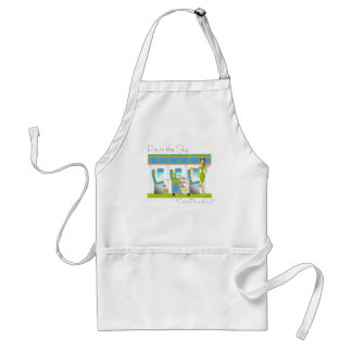 Pie in the Sky Airline Apron