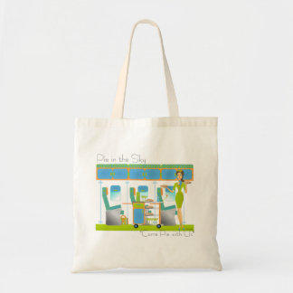 Pie in the Sky Airlines Tote Bag