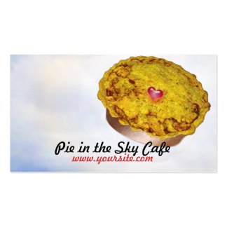 Pie in the Sky Cafe Business Card