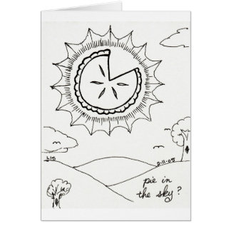Pie in the Sky card