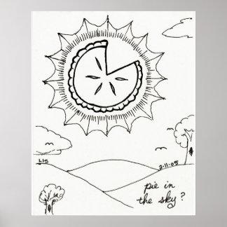 Pie in the Sky print