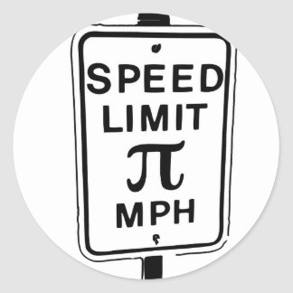 Pie_Limit Classic Round Sticker
