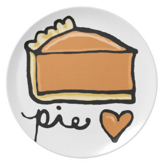 Pie Love! Dinner Plate