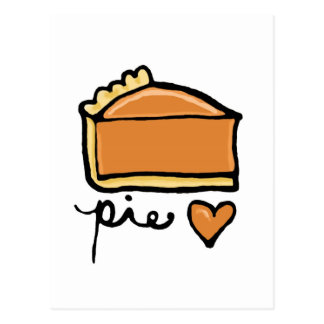 Pie Love! Postcard
