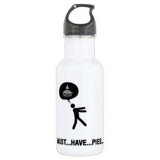 Pie Lover Stainless Steel Water Bottle