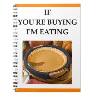 pie notebook
