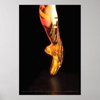 Pie P-4790xlg del ballet Posters