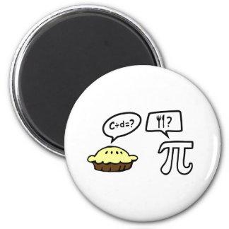 Pie & Pi 2 Inch Round Magnet