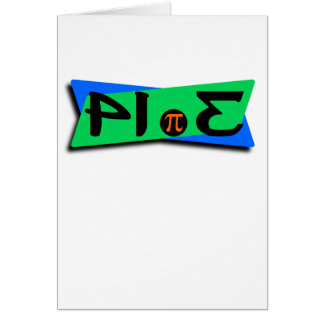 Pie Pi 3.14 Backwards Card