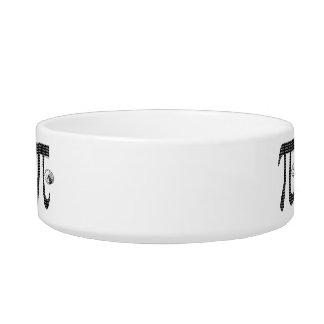 Pie Pi Cat Food Bowls