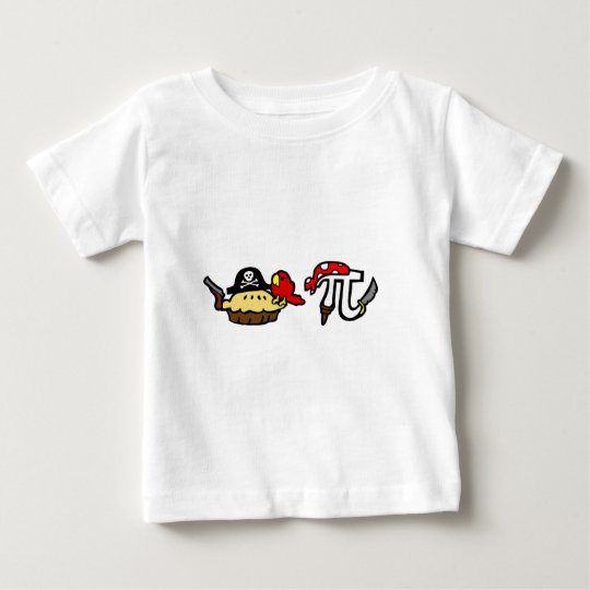 Pie & Pi Pirates Baby T-Shirt