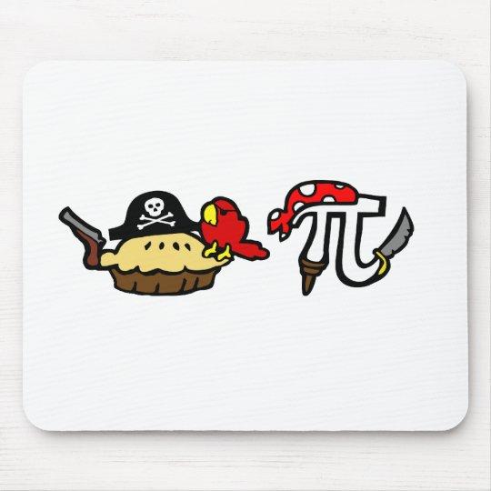 Pie & Pi Pirates Mouse Pad