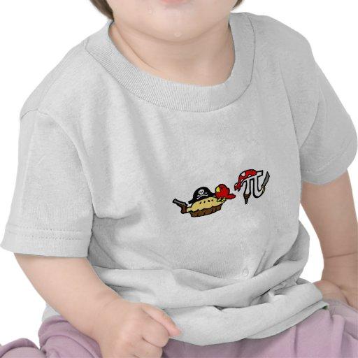 Pie & Pi Pirates Tshirts