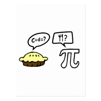 Pie Pi Post Cards