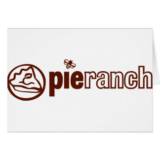Pie Ranch Official Logo Greeting Card