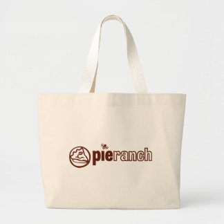 Pie Ranch Official Logo Jumbo Tote Bag