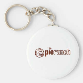 Pie Ranch Official Logo Basic Round Button Keychain