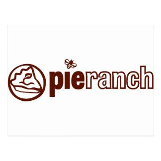 Pie Ranch Official Logo Postcard