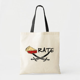 Pie-rate! Budget Tote Bag