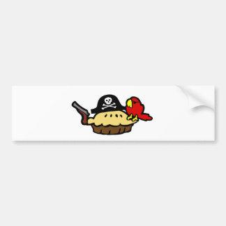 Pie Rate Bumper Sticker