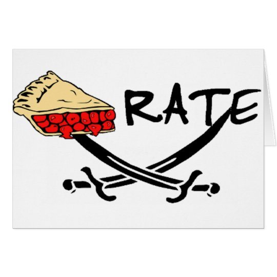 Pie-rate! Card
