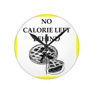 pie round clock