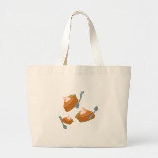 Pie Slice Canvas Bag