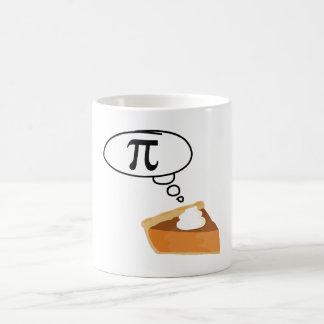 Pie Thinking of Pi Coffee Mug