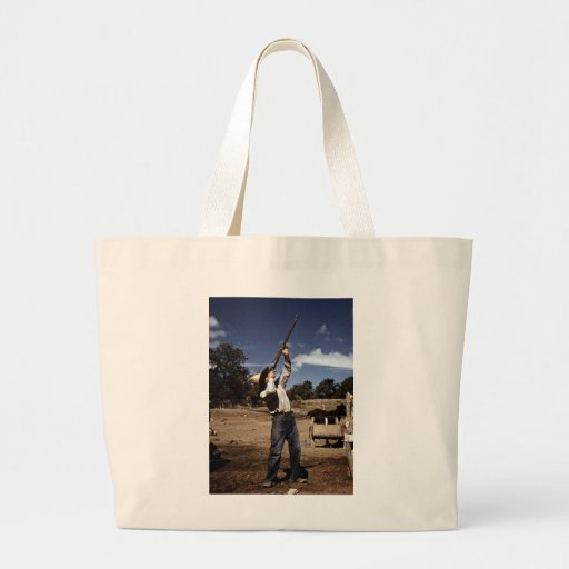 Pie Town Sharpshooter, 1940 Tote Bag
