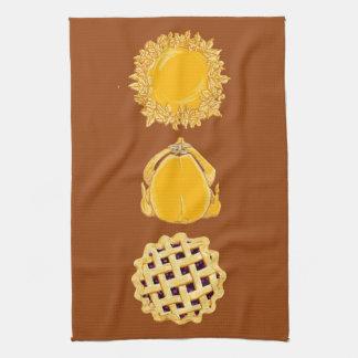 Pie Turkey Pie vertical dk pumpkin kitchen towel
