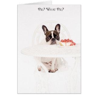 Pie? What Pie? Card