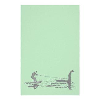 Pie y Nessie grandes Papeleria De Diseño