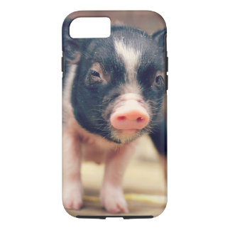 Piebald Pig puppy for Pig Lovers iPhone 8/7 Case